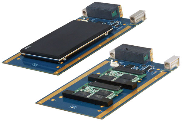 Модуль хранения Acromag Xembedded XVPX-9756 выполнен в типоразмере 3U