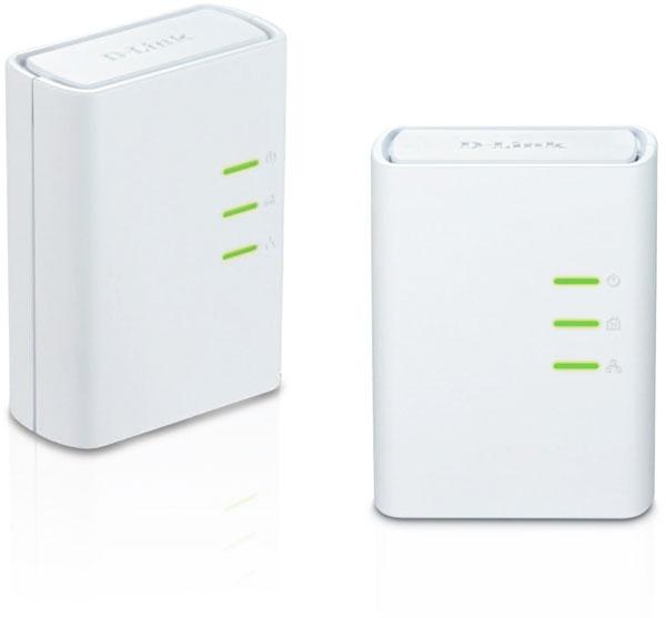 Набор D-Link PowerLine AV+Mini Adapter Starter Kit позволяет использовать электросеть для подключения к локальной сети
