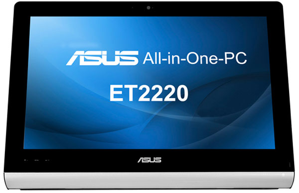 Размер экрана моноблочного ПК ASUS ET2220 равен 21,5 дюйма