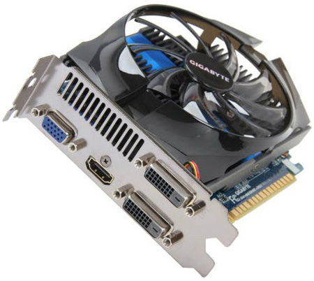 GIGABYTE GeForce GTX 650 Ti OC 1GB