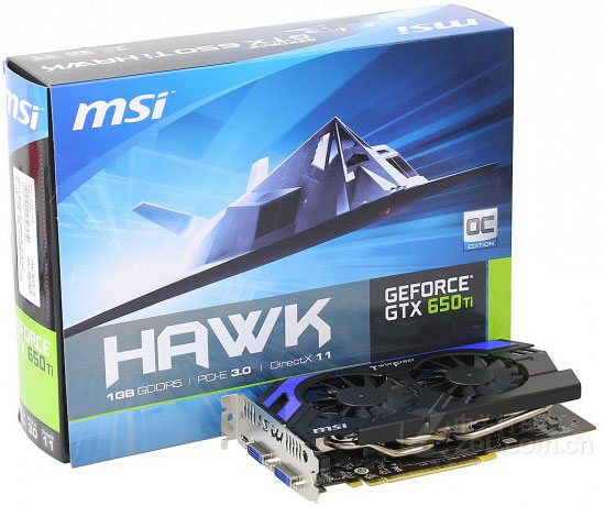 MSI GTX 650 Ti HAWK