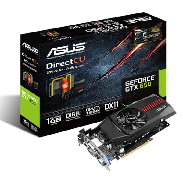 ASUS GeForce® GTX 650 DirectCU Pandaren Monk