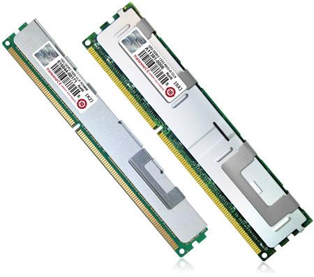 �������� Transcend ����������� ������ ����������� ������ RDIMM DDR3-1333 � DDR3-1600 ������� 32 � 16 ��