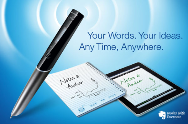 Электронная ручка Sky оснащена интерфейсом Wi-Fi и поддерживает облачный сервис Evernote