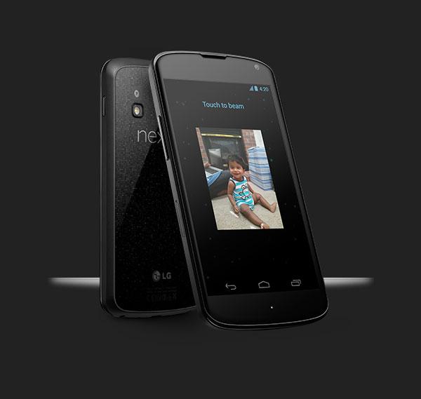 Смартфон Google Nexus 4 работает под управлением Android 4.2