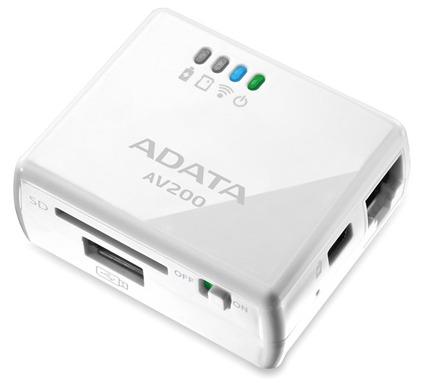 Рекомендованная цена DashDrive Air AV200 на европейском рынке примерно равна $70