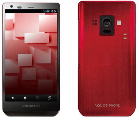 Разрешение экрана Sharp Aquos Phone Zeta SH-02E равно 1280×720 пикселей