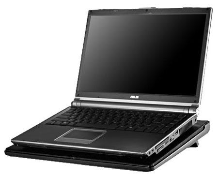 В NotePal I300 используется 160-миллиметровый вентилятор