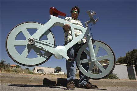 Выпуск картонных велосипедов начнется в ближайшие месяцы