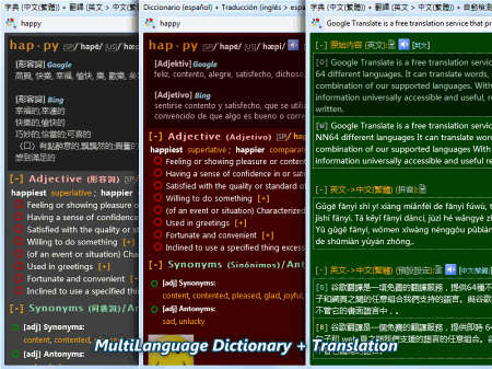 Dictionary .NET