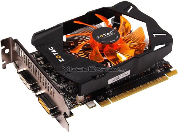 В серию 3D-карт ZOTAC GeForce GTX 650 Ti войдет не меньше трех моделей