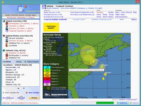 Earth Alerts 2013