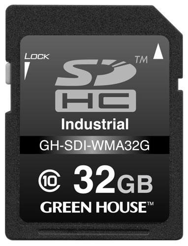 В серию Green House GH-SDI-WMA вошли модели объемом 2, 4, 8, 16 и 32 ГБ