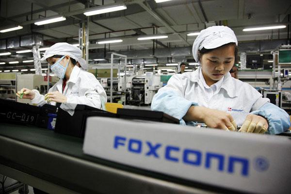 ����� � ����� �� ������������ Foxconn �������� ����� �������� �������