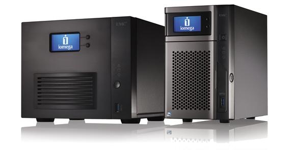 Хранилища Iomega StorCenter px2-300d и StorCenter ix4-300d предназначены для малого/среднего бизнеса