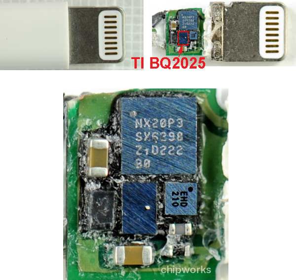 Чип идентификации Apple Lightning взломан, можно ждать появления недорогих аналогов фирменных кабелей и переходников