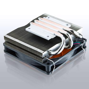 Процессорный охладитель Xigmatek Praeton LD963 высотой 44 мм рассчитан на процессоры с TDP до 115 Вт