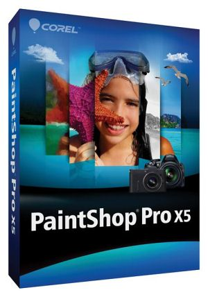 PaintShop Pro X5 Box-art