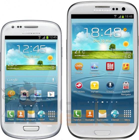 Изображения и спецификации смартфона Samsung Galaxy S III Mini появились накануне официальной премьеры