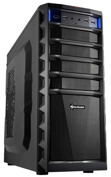Ассортимент Sharkoon пополнили корпуса REX8 Value и REX8 Economy, принадлежащие  категории midi-tower