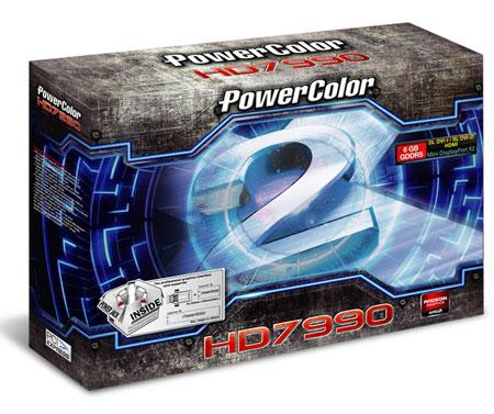 Цену PowerColor HD7990 производитель не называет