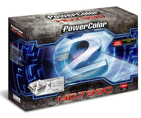 ���� PowerColor HD7990 ������������� �� ��������
