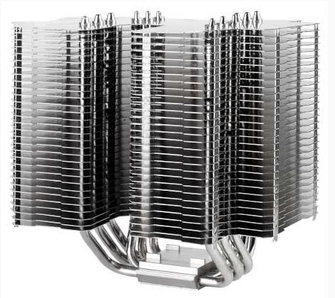 Процессорный охладитель SilverStone Heligon HE02 без собственных вентиляторов может справиться с мощностью до 150 Вт
