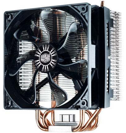 В конструкцию Cooler Master Hyper T4 входит четыре тепловые трубки