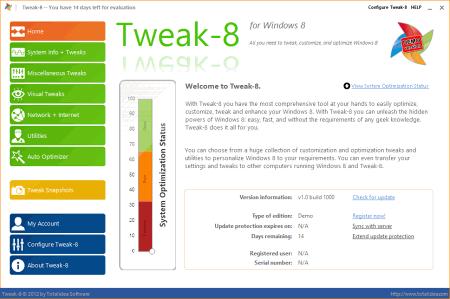 ������� ���� Tweak-8