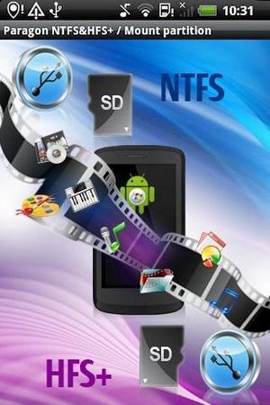 Paragon NTFS и HFS+