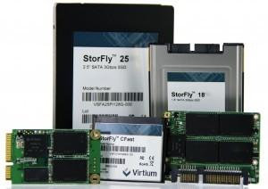 В семейство Virtium StorFly входят накопители, оснащенные интерфейсом SATA 3 Гбит/с