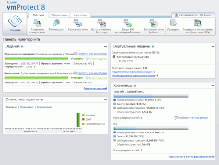 Acronis vmProtect