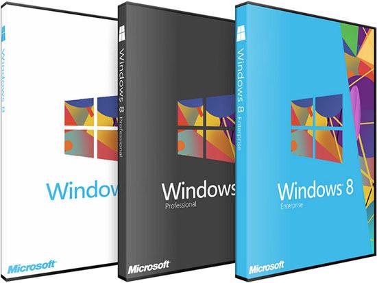 Обновление Windows XP, Windows Vista или Windows 7 до Windows 8 Pro стоит $40