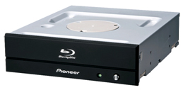 Серия внутренних пишущих приводов Blu-ray Pioneer BDR-PR1 состоит из двух моделей