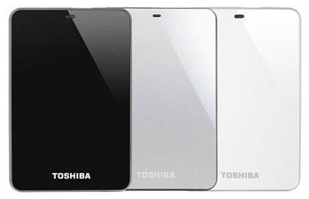 Toshiba обновляет семейство внешних HDD Canvio