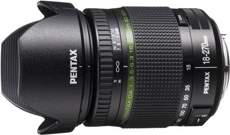 Продажи smc PENTAX DA 18-270mm F3.5-5.6 ED SDM производитель обещает начать в ноябре по цене $800