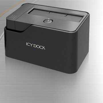 Док для накопителей Icy Dock MB981U3-1S оснащен портами USB 3.0 и eSATA