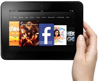 До конца года Amazon отгрузит более 5 миллионов планшетов Kindle Fire HD