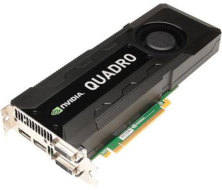 NVIDIA анонсирует графический ускоритель Quadro K5000 for Mac