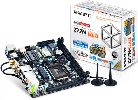 Системная плата GIGABYTE GA-Z77N-WiFi