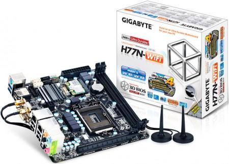 Системная плата GIGABYTE GA-H77N-WiFi