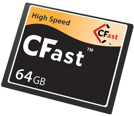 Главное нововведение CFast 2.0 — использование интерфейса SATA 6 Гбит/с