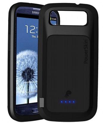 PowerSkin предлагает чехол-батарею для Samsung Galaxy S III с поддержкой NFC