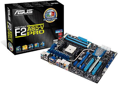 Основой плат серии ASUS F2A85 стал чипсет AMD A85X FCH (Hudson D4)
