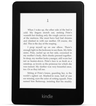 Представлена электронная книга Amazon Kindle Paperwhite