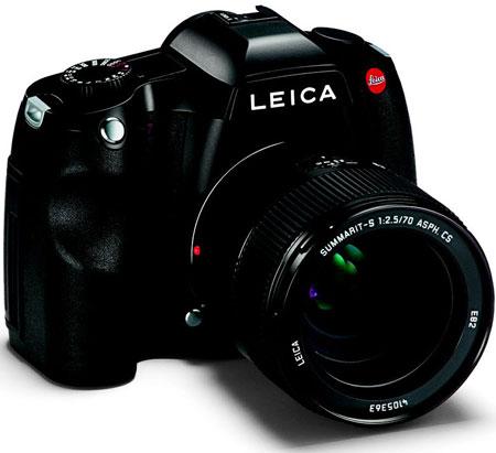 Представлена камера среднего формата Leica S