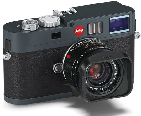 Представлена цифровая дальномерная камера Leica M-E