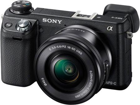 В камере Sony α NEX-6 используется датчик изображения формата APS-C