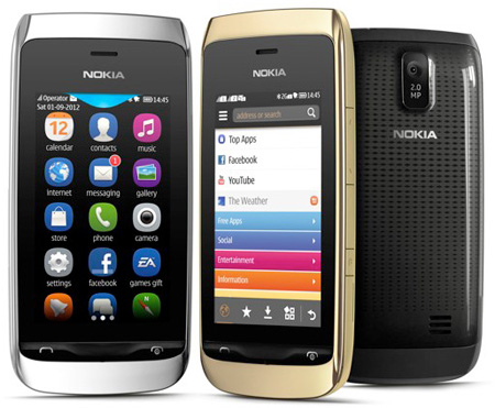 Nokia Asha 308 � 309