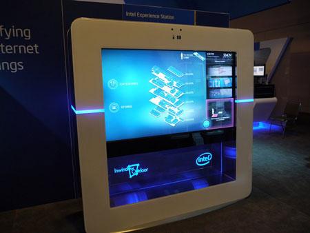 IDF 2012, выставка: Intel Experience Station, решения OCZ и DisplayLink